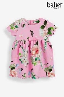 שמלת ג'רזי פרחונית של Baker By Ted Baker