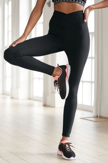7/8 Wrap Waist Sports Leggings