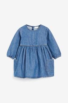 Платье с длинным рукавом (0 мес. - 2 лет)