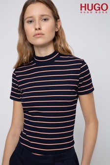 חולצת טי דגםDaroline שלHUGO