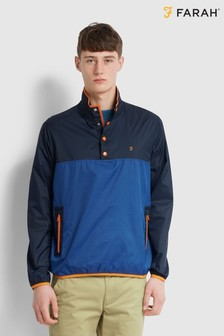 Farah Blue Colourblock Jacket