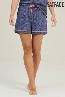 מכנסיים קצרים של FatFace דגם Dotty בנייבי