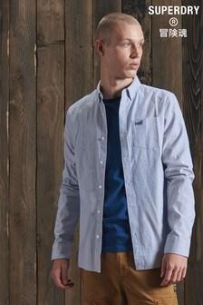 Superdry Blue Oxford Shirt