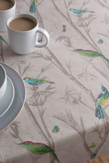 Wipe Clean Table Cloth With Linen (229403) | $35 - $40