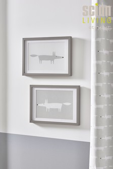 Set of 2 Scion Living Exclusively At Next Framed Prints