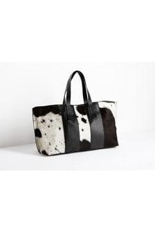 Выходная кожаная сумка