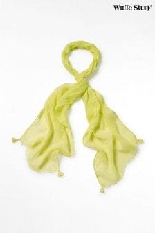 Зеленый льняной шарфWhite Stuff Savannah