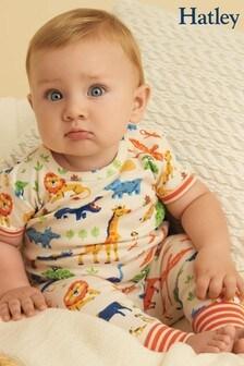 Пижама из органического хлопка с короткими рукавамиHatley Wild Safari