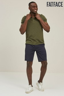 FatFace Blue Slim Stretch Chino Shorts
