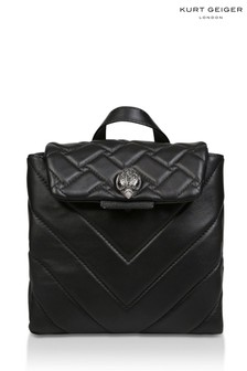Kurt Geiger London Kensington Small Black Backpack