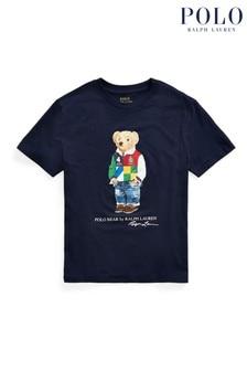 Ralph Lauren Navy Bear T-Shirt