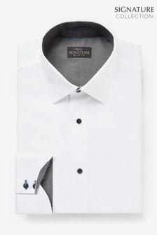 Signature Jacquard Trimmed Shirt