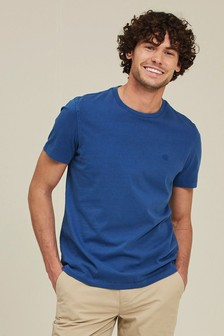 FatFace French Blue Lulworth Crew T-Shirt