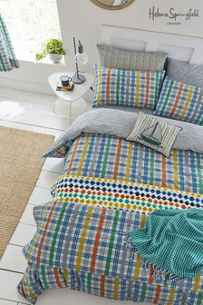 Helena Springfield Menton Check Quilted Throw