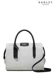 Radley London Grey Liverpool Street Texture Medium Multiway Bag
