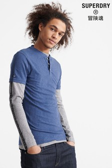 Superdry Heritage Short Sleeve Henley T-Shirt