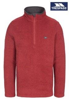 Trespass Red Nillsee - Male Fleece At200 (230948) | $51