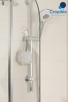 3-Funkčná nástavná hlavica na sprchu Croydex Silk Spray