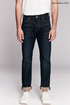 Abercrombie & Fitch Mid Wash Straight Jeans