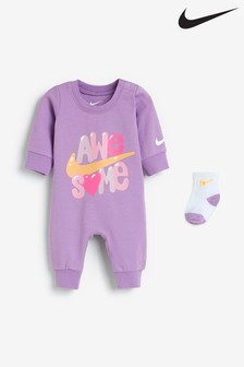 Nike Baby Suit And Socks Set