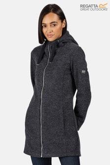 Regatta Blue Reeva Longline Hooded Fleece