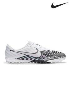Nike White Mercurial Vapor 13 Academy Turf Junior & Youth Football Boots