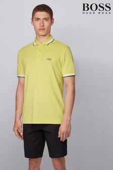 חולצת פולו Paddy צהובה של Boss