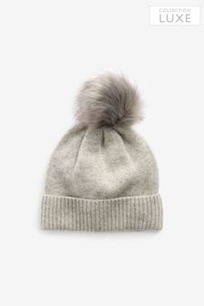 Kasmír Blend Pom Hat