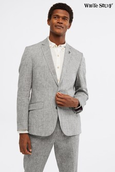 White Stuff Grey Northcote Linen Blazer