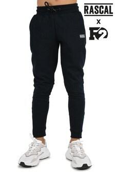 Черные базовые спортивные брюки Rascal (для мальчиков)