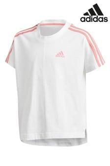 adidas 3 ストライプ Tシャツ