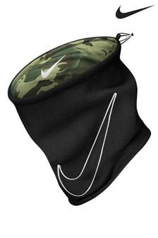 Двусторонний шарф-снуд камуфляжного/черного цвета Nike