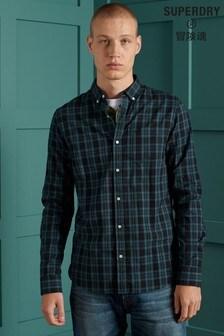 Superdry Blue Check Shirt