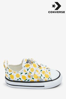 Converse Lemon Print Infant Trainers