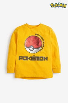 Pokémon™ Ball Sequin T Shirt (3-14yrs)