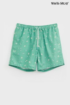 White Stuff綠色Lagoon泳褲