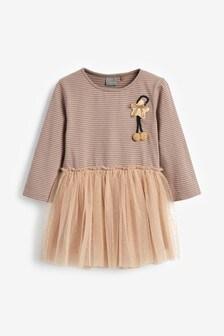 Langärmeliges Kleid (3Monate bis 7Jahre)