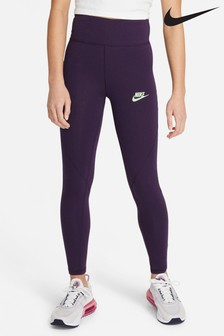 Nike Purple High Waisted Leggings