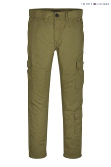 Tommy Hilfiger Green Cargo Trousers