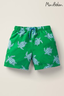 Boden Green Bathers Shorts