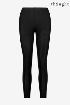 Czarne legginsy Thought Bamboo Base Layer