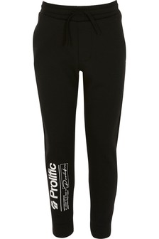 River Island Black Prolific Printed Joggers