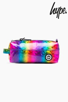 Hype. Rainbow Glitter Pencil Case