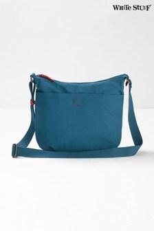White Stuff Blue Make A Splash Cross Body Bag