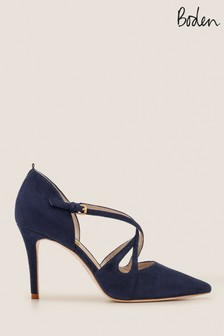 Boden Blue Rosemary Heel Shoes