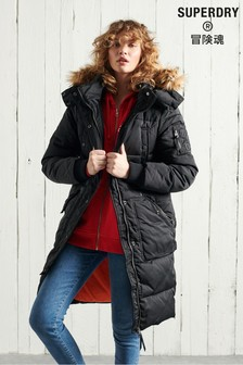 Superdry Longline Chinook Padded Coat
