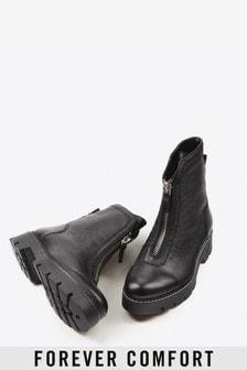 Forever Comfort® Robuste Stiefel mit Reißverschluss