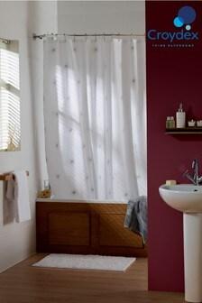 Croydex Stellar Star Print Shower Curtain