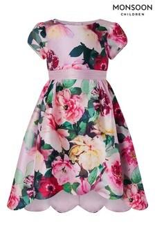 Monsoon Pink Belle Floral Dress
