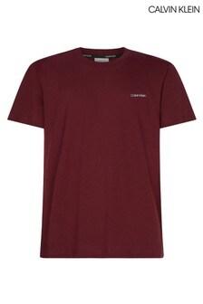Calvin Klein Red Chest Logo T-Shirt